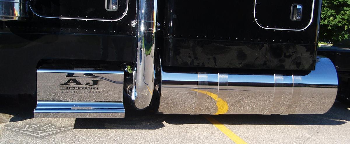 Fuel Tank Wraps Peterbilt 12 Gauge Custom