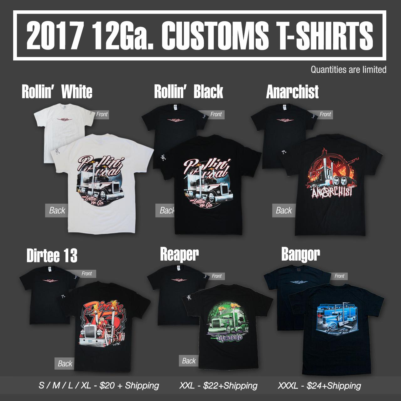 Apparel 12 Gauge Custom